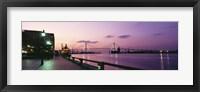 Bridge across a river, Savannah River, Atlanta, Georgia, USA Fine Art Print