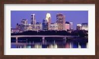 Minneapolis at Night Fine Art Print