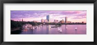 Dusk Boston MA Fine Art Print