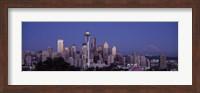 Seattle Skyline Fine Art Print