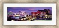High angle view of buildings in a city, Rodeo Drive, Beverly Hills, California, USA Fine Art Print