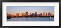 Boston, Massachusetts skyline Fine Art Print