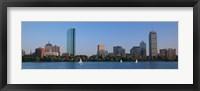 Buildings at the waterfront, Back Bay, Boston, Massachusetts, USA Fine Art Print