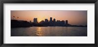 Buildings at the waterfront, Boston Harbor, Boston, Suffolk County, Massachusetts, USA Fine Art Print