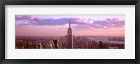 Aerial view of Midtown Manhattan, New York City Fine Art Print
