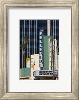 Theater in a city, Hollywood Palladium, Hollywood, Los Angeles, California, USA Fine Art Print