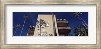 Low angle view of a hotel, Beverly Hills Hotel, Beverly Hills, Los Angeles County, California, USA Fine Art Print