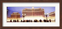 Bellagio Resort And Casino Lit Up At Night, Las Vegas Fine Art Print