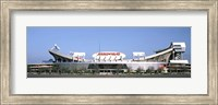 Football stadium, Arrowhead Stadium, Kansas City, Missouri Fine Art Print