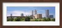 Downtown Tulsa from Centennial Park, Oklahoma Fine Art Print