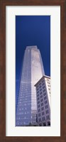 Low angle view of the Devon Tower, Oklahoma City, Oklahoma Fine Art Print