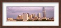 Downtown skyline, Oklahoma City, Oklahoma Fine Art Print