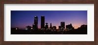Downtown Oklahoma City at Night Fine Art Print