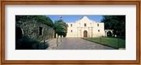 Facade of a building, The Alamo, San Antonio, Texas Fine Art Print