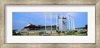 Baseball stadium in a city, Kauffman Stadium, Kansas City, Missouri Fine Art Print