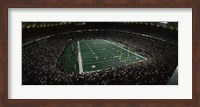 Spectators in an American football stadium, Hubert H. Humphrey Metrodome, Minneapolis, Minnesota, USA Fine Art Print