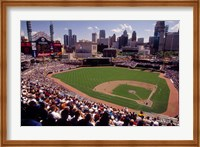 Home of the Detroit Tigers Baseball Team, Comerica Park, Detroit, Michigan, USA Fine Art Print