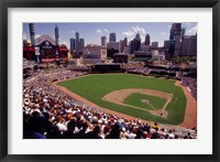 Home of the Detroit Tigers Baseball Team, Comerica Park, Detroit, Michigan, USA Fine Art Print