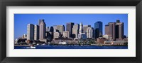 Skyline, Cityscape, Boston, Massachusetts, USA, Fine Art Print