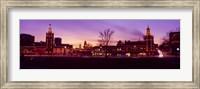 Buildings in a city, Country Club Plaza, Kansas City, Jackson County, Missouri, USA Fine Art Print