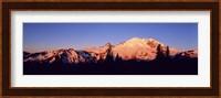 Sunset Mount Rainier Seattle WA Fine Art Print