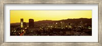 Hollywood Hills, Hollywood, California, USA Fine Art Print