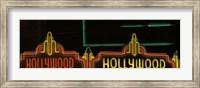 Hollywood Neon Sign Los Angeles CA Fine Art Print