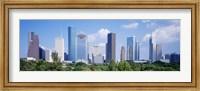 Houston Skyline, Texas Fine Art Print