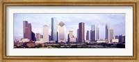 Houston, Texas Skyline Fine Art Print
