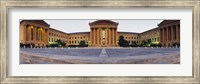 Facade of a museum, Philadelphia Museum Of Art, Philadelphia, Pennsylvania, USA Fine Art Print