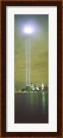 Evening, Towers Of Light, Lower Manhattan, NYC, New York City, New York State, USA Fine Art Print