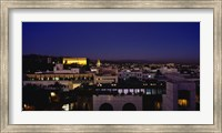 Griffith Park Observatory, San Gabriel Mountains, Hollywood Hills, Hollywood, City Of Los Angeles, California, USA Fine Art Print
