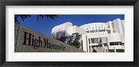Facade of an art museum, High Museum of Art, Atlanta, Fulton County, Georgia, USA Fine Art Print