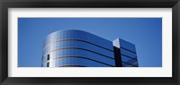 High section view of a building, Midtown plaza, Atlanta, Fulton County, Georgia, USA Fine Art Print