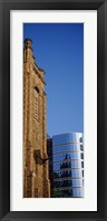 Skyscrapers in a city, Presbyterian Church, Midtown plaza, Atlanta, Fulton County, Georgia, USA Fine Art Print