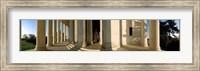 Columns of a memorial, Jefferson Memorial, Washington DC, USA Fine Art Print