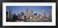 Buildings in a city, Boston, Suffolk County, Massachusetts, USA Fine Art Print
