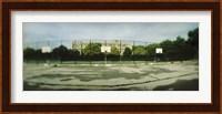 Basketball court in a public park, McCarran Park, Greenpoint, Brooklyn, New York City, New York State, USA Fine Art Print