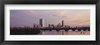 Charles River, Back Bay, Boston, Massachusetts Fine Art Print