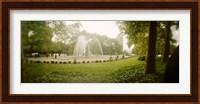 Fountain in a park, Prospect Park, Brooklyn, New York City, New York State, USA Fine Art Print
