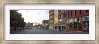 Street View of Kansas City, Missouri Fine Art Print