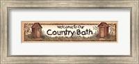Bath Welcome Fine Art Print