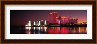 Casinos at the waterfront, Laughlin, Nevada Fine Art Print