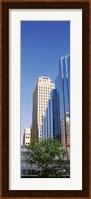 Reflection on BMO Bank building, Oklahoma City, Oklahoma, USA Fine Art Print