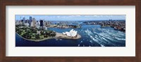Australia, Sydney, aerial Fine Art Print