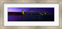 Australia, Sydney, Harbor Bridge Fine Art Print