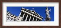 Austria, Vienna, Parliament Fine Art Print