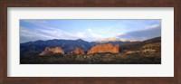 Garden Of The Gods, Colorado Springs, Colorado Fine Art Print