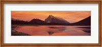 Mt Rundle & Vermillion Lakes Banff National Park Alberta Canada Fine Art Print