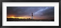 Sunset, Barnegat Lighthouse State Park, New Jersey, USA Fine Art Print